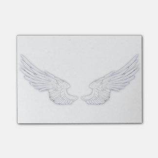 Falln White Angel Wings Post-it Notes