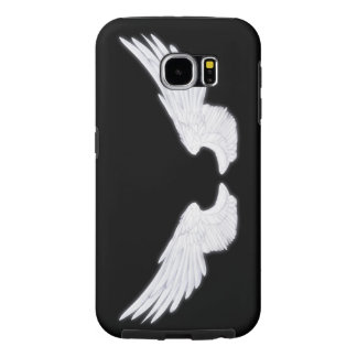 Falln White Angel Wings Samsung Galaxy S6 Cases