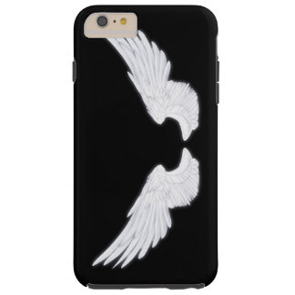 Falln White Angel Wings Tough iPhone 6 Plus Case