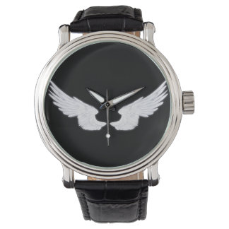 Falln White Angel Wings Watch