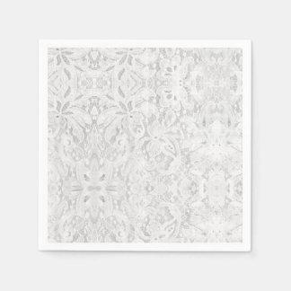 Falln White Lace Paper Napkin