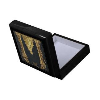 Falln Woman in Gold Book Cover Gift Box