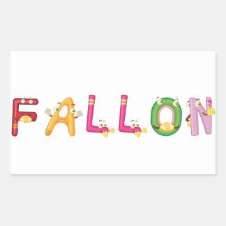 Fallon Sticker