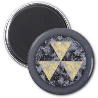 Fallout Shelter-cl-dist 6 Cm Round Magnet
