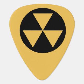Fallout Shelter Guitar Pick