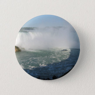 Falls View : Niagara USA Canada 6 Cm Round Badge