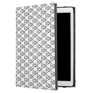 "Falluminai Black Onix by Umberto Lizard iPad Pro 12.9"" Case"