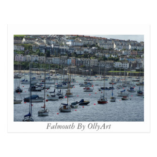 Falmouth By OllyArt Photography Postcard