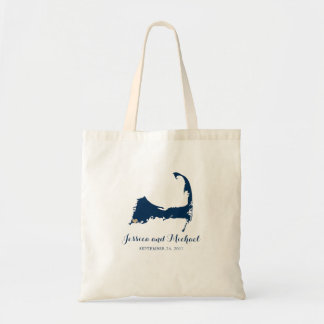Falmouth Cape Cod Map with Heart | GUEST BAG