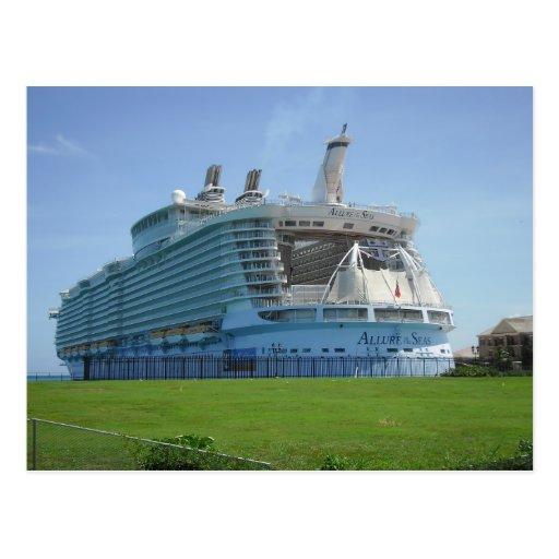 Falmouth Cruise Ship Pier Postcards