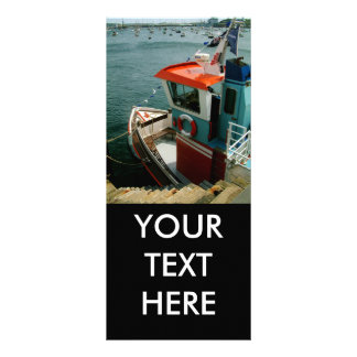 Falmouth Harbour Customized Rack Card