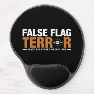 False Flag Terror Gel Mousepad