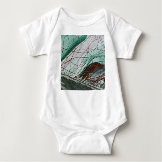 False Image Baby Bodysuit