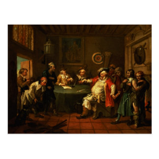 Falstaff Examining his Recruits from Henry IV Postcard