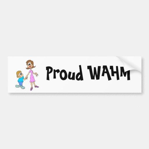 Fam1, Proud WAHM Bumper Stickers