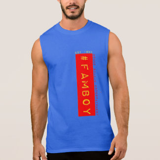#famboy sleeveless shirt