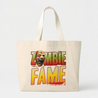 Fame Zombie Head Tote Bags