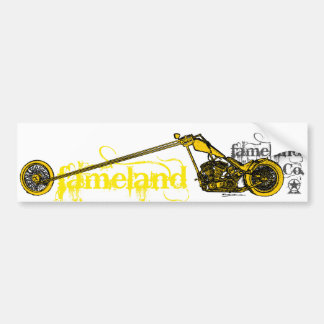 Fameland Garage Company - Yellow Edition Bumper Sticker