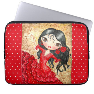 """Famenco Dancer"" Laptop Sleeve"