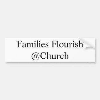 """Families Flourish"" sticker"