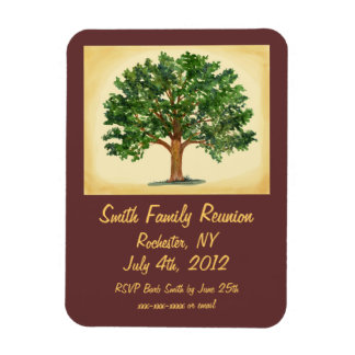Familly Reunion - Save the Date, Invitation Magnet