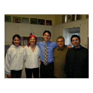 Family 2006 postcard