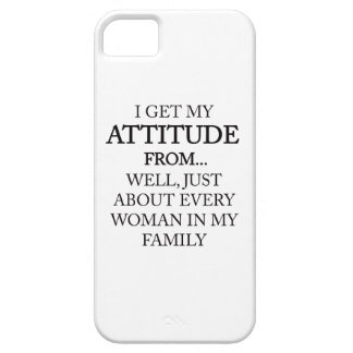 Family Attitude Barely There iPhone 5 Case