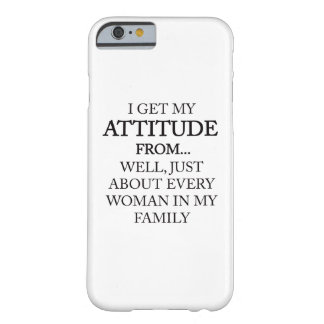 Family Attitude Barely There iPhone 6 Case