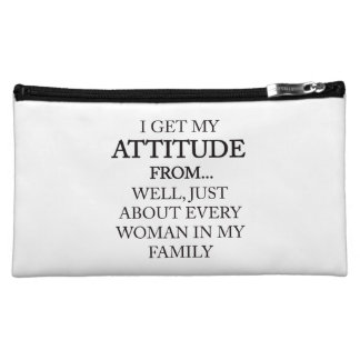 Family Attitude Cosmetic Bag