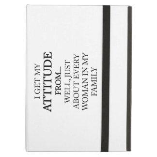 Family Attitude Cover For iPad Air