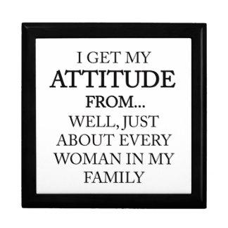 Family Attitude Gift Box