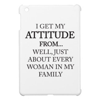 Family Attitude iPad Mini Cases