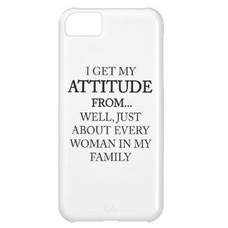 Family Attitude iPhone 5C Case