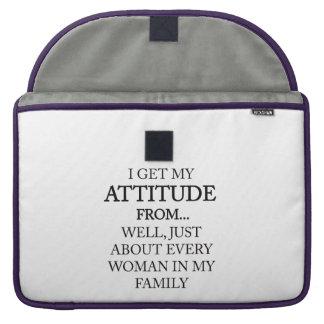 Family Attitude Sleeve For MacBooks