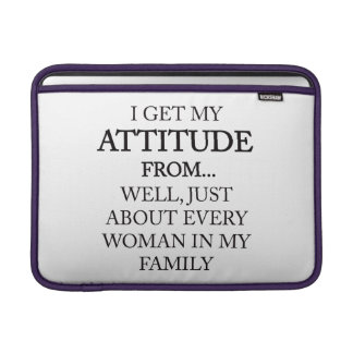 Family Attitude Sleeves For MacBook Air
