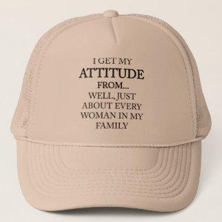 Family Attitude Trucker Hat