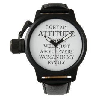 Family Attitude Watch