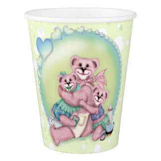 FAMILY BEAR2 LOVE Paper Cup, 9 oz Paper Cup