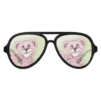 FAMILY BEAR Adult Aviator Party Shades