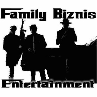 Family Biznis Entertainment Standout Standing Photo Sculpture
