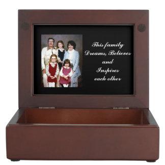Family Blessing Keepsake Box