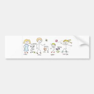 Family Bumper Sticker