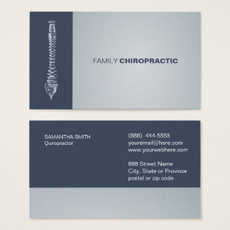 Family Chiropractic ı Business card