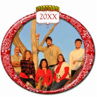 Family Couples Kids Photo Christmas Ornament Photo Sculpture Decoration