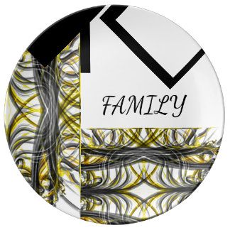 Family Creative Design Plate