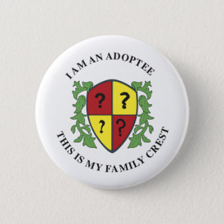 Family Crest 6 Cm Round Badge