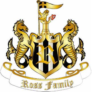 Family Crest Sculpture (Ross) Photo Cutout