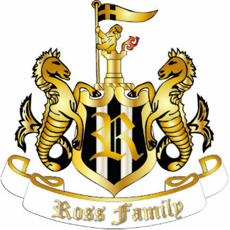 Family Crest Sculpture (Ross) Photo Sculpture Decoration