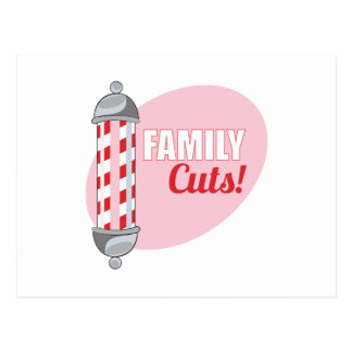 Family Cuts Post Cards