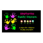 Family Daycare Business Card